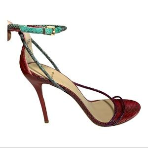 B BRIAN ATWOOD Labrea High Heel Sandals Red Size 9